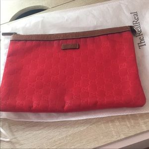 Gucci Cosmetic Bag Clutch Authentic